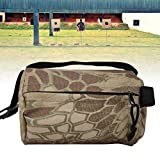 CUTULAMO Outdoor Shooting Rest Bags,900D Oxford Shooting Bench Rest Front and Rear Support Sand Bag Stand Holders,Portable Target Stand Support Sandbag for Outdoor Hunting Activities(Camouflage)