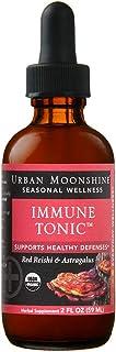 Organic Immune Tonic with Astragalus & Red Reishi - 2 fl oz