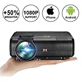 Movie Projector,Weton Upgraded Mini Projector 2200 Lumen (+50%)...