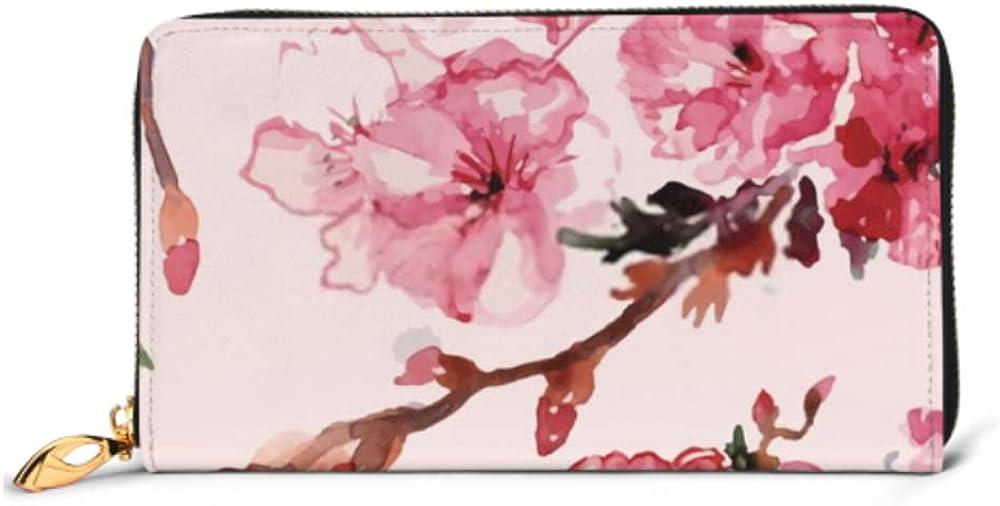Fashion Handbag Zipper Wallet Cherry mart Blossoms Financial sales sale Phone Purse Clutch