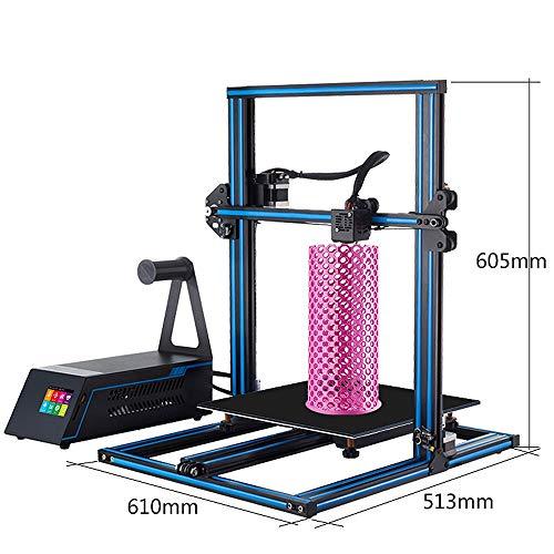 Z.L.FFLZ Imprimante 3D Taille d'impression maximale du kit d'impression A5X 3D avec 2,8 '' Machine d'impression 3D de Bureau à Tige de vis à axe Z à écran Tactile HD