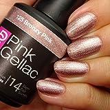 Pink Gellac Bronzy Pink 15ml Gel Nail Polish by Pink Gellac