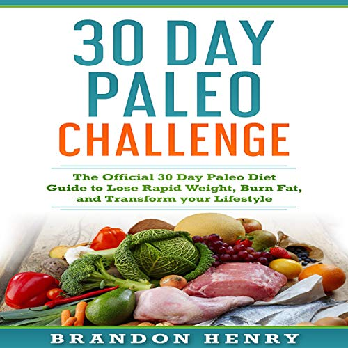 30 Day Paleo Challenge  By  cover art