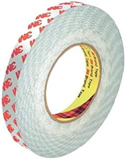 3M 9088 Double-Sided High Performance Clear Tape; 25mm x 50m