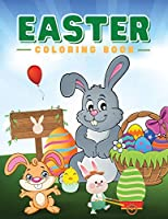 Easter Coloring Book: The Great Big Easter Egg Coloring Book for Kids