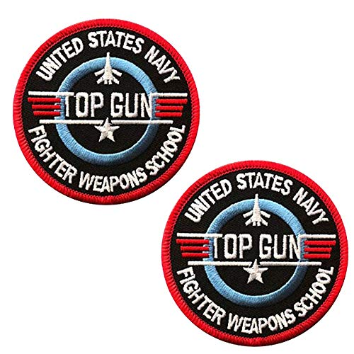 Top Gun Custom Personalized Embroidered Military Tactical...