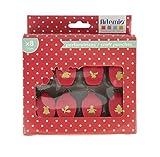 Artemio–8Mini perforatrici Kit di Natale, plastica, Multicolore