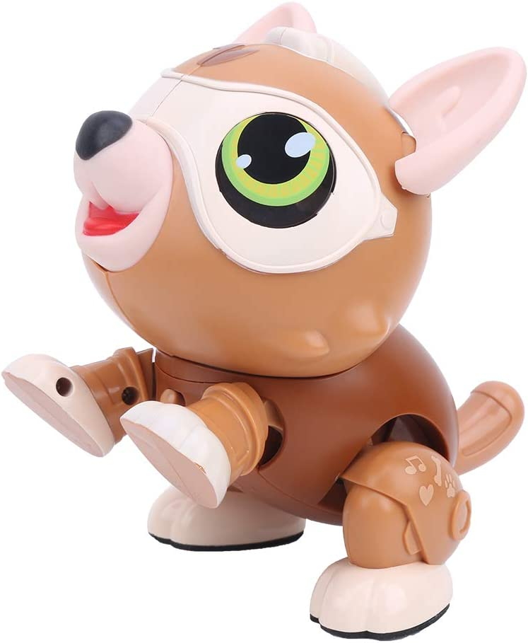 Robot OFFicial store Dog Toy Plastic Electronic Max 56% OFF 3 Yea for Over Singing