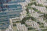 Luxor Living Outdoorteppich Webteppich Lost Garden für den Außenbereich florales Design/In- und Outdoor geeignet, Farbe:Beige-Blau, Größe:80 x 150 cm - 7