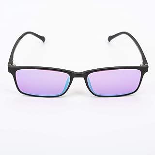 Color Blind Corrective Glasses for Red-Green Blindness, Medium Strong Grade Glasses for Color Vision Disorder, Color Weakness, Unisex, 2 Type Frame Glasses to Choose,FullFrame