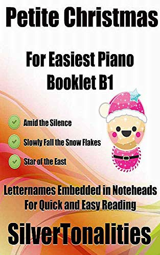 Petite Christmas for Easiest Piano Booklet B1 (English Edition)