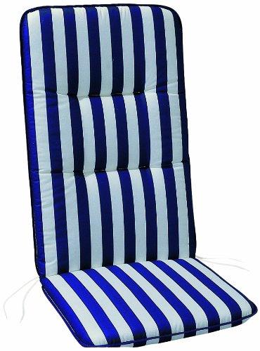 BEST 05090268 Coussin Monobloc pour Chaise à Dossier Haut 96 x 43 x 5 cm