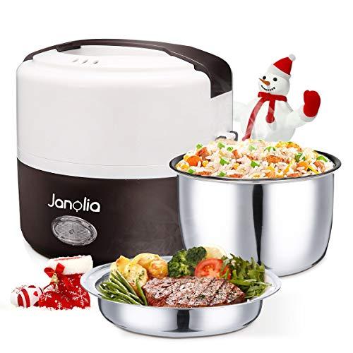 Janolia Boîte à Repas Électrique, Mise à Niveau Version, Lunch Box Chauffante, Réchauffeur de...