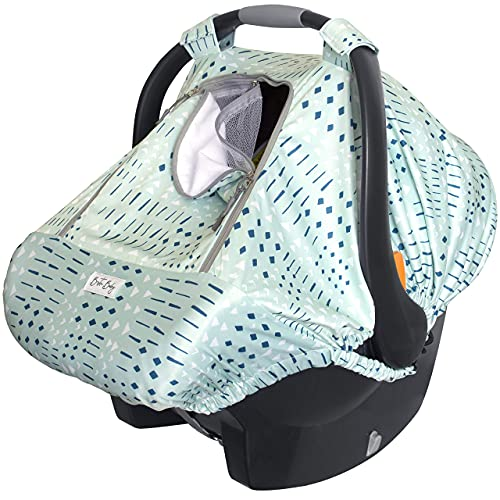 Bristin Baby Car Seat Canopy Stroller Cover for Infant Boy and Girl Babies Stretchy and Kick Proof with Net Multi Use Soft and Breathable