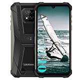 Ulefone Armor 8 Rugged Phones Unlocked (2021), Helio P60 Octa-core 4GB + 64GB Android 10 Smartphone, 16MP Triple Rear Camera + 8MP Front Camera, 6.1' HD+ 5580mAh Battery Global 4G Unlocked Smartphones