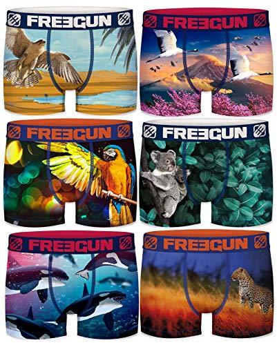Freegun - Lote de 6 bóxers de...