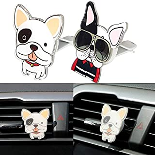 1 PC Car Air Vent Outlet Perfume Solid Cute Dogs Shaped Car Air Freshener Auto Decor Funny Car-Styling
