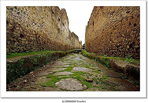 Barewalls Pompeii Italy Paper Print Wall Art (4in. x 6in.)