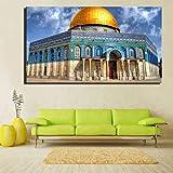 Danjiao Moderne Landschaft Leinwand Kunst Malerei Jerusalem