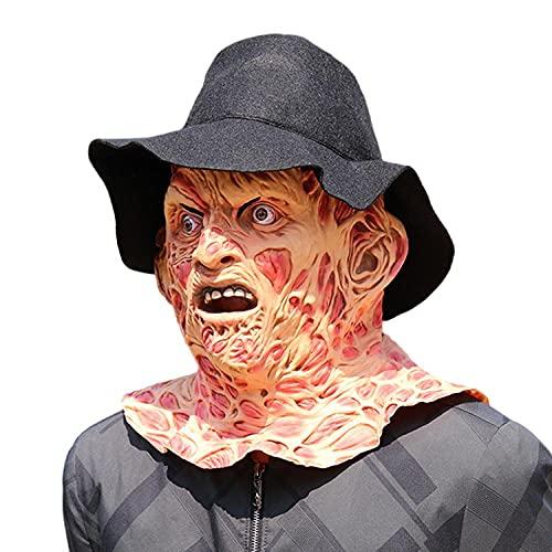 TARIZPPG Halloween Maske, Neuheit Latex Horror Masken/Halloween Kostüm für Party/Scary Kopf Maske Gesicht für Erwachsene Halloween Party Cosplay Party Kostüm Requisiten-Zombie_Mask