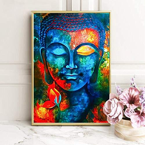 YuanMinglu Carteles y Grabados budistas Modernos Pintura