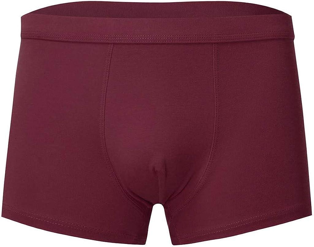 MODOQO 5Pack Men's Underwear Boxer Briefs Ultra Soft Breathable Regular Fit Comfortable Underpants