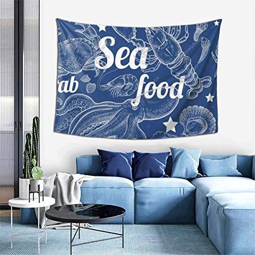 FHDSF Lebkuchen Kekse Kollektion Mode Tapisserie Stoff 60x40 Zoll Wandbehang mit hängenden Accessoires