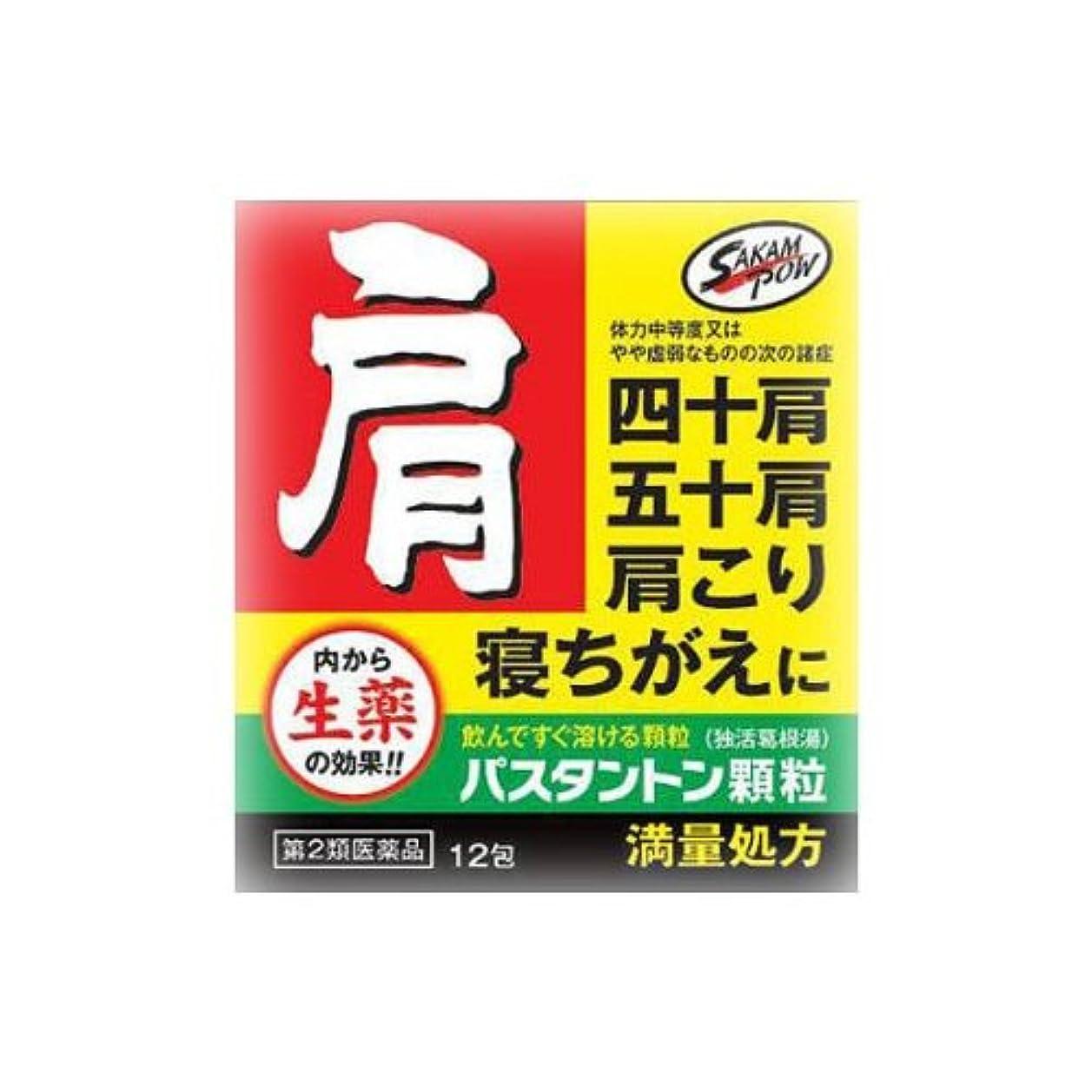 開梱スリチンモイ護衛【第2類医薬品】パスタントン顆粒 12包