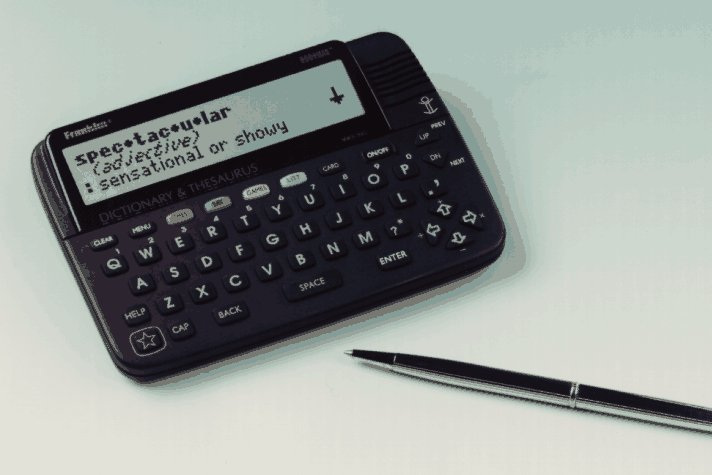 Speaking Merriam-Webster Dictionary & Thesaurus: BOOKMAN(R) (Electronic speaking desktop model)