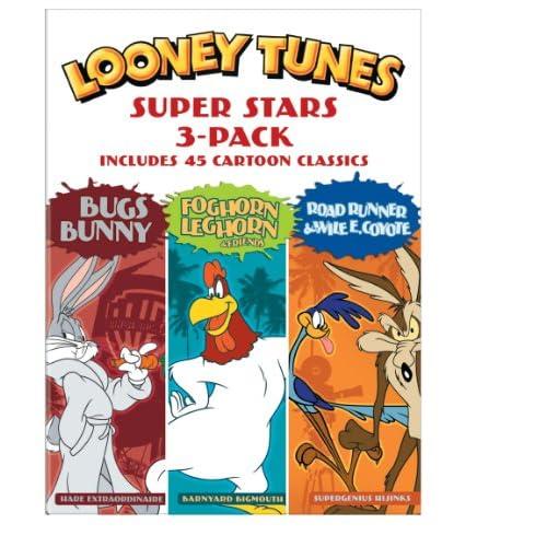Looney Tunes Super Stars 3-Pack (3 Dvd) [Edizione: Stati Uniti]