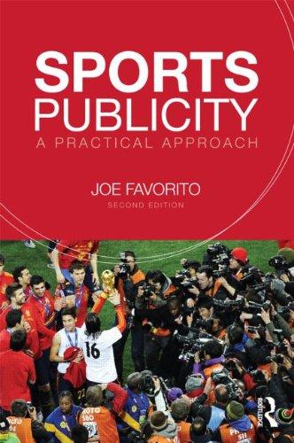 Sports Publicity: A Practical Approach