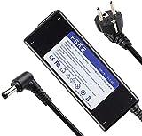 FSKE 90W 19V 4.74A Alimentatore Caricabatterie Portatile per ASUS N550JK N56VZ AD887020 EXA1208EH PA-1650-78 EXA1203YH ADP-65AW A PA-1650-93 AC Adattatore Notebook EUR Power Supply,5.5 * 2.5mm