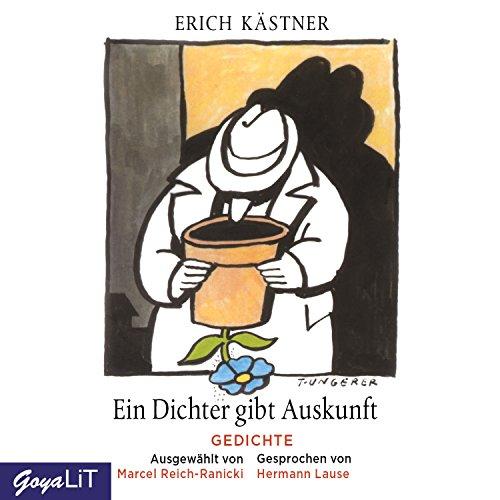 Ein Dichter gibt Auskunft: Gedichte - ausgewählt von Marcel Reich-Ranicki Titelbild