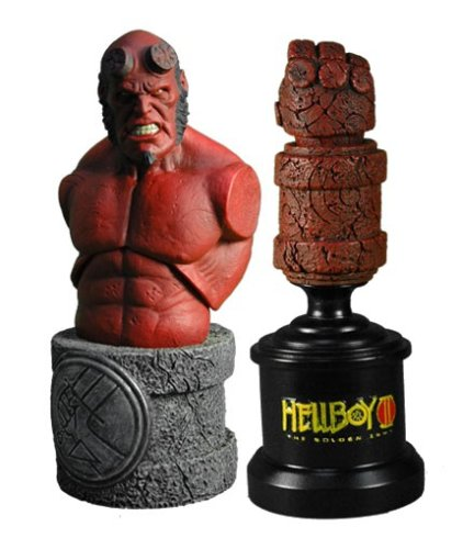Mezco Hellboy 2 The Golden Army Roto Bust Hand of Doom