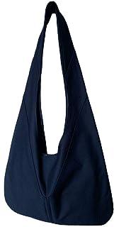 着るポケットショルダーバッグ【 KUROKOくろこ】ネイビー/オリジナルプリント&ハンドメイド少数販売品