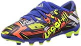 adidas Nemeziz Messi 19.3 MG J, Zapatillas de fútbol, AZUREA/Plamet/Amasol, 38 EU