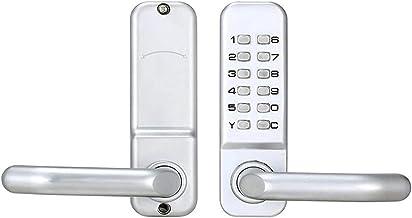 Deurslot Huishoudelijke mechanische digitale drukknop deurslot Keyless toetsenbord Combinatiecode vergrendelingset voor de...