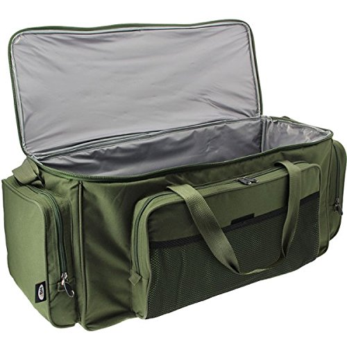 DNA Leisure NGT Choose from Menu Carp Coarse Fishing Green Insulated Carryall Bait Tackle Camping Overnight Bag Brewbag Regular or Large (709-L Carryall)