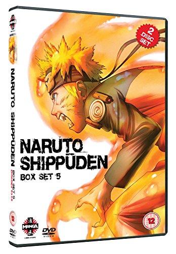 Naruto Shippuden Box Set 5 (Episodes 53-65) [Edizione: Regno Unito] [Import]