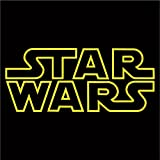 Cove Signs Star Wars Outline Decal - Yellow 4'