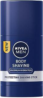 Nivea for Men Maximum Hydration Body Protecting Shave Stick, 2.5 Oz