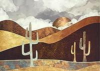 ジグソーパズル 1000 ピース 大人 拼图游戏 | 砂漠のサボテンのパターン