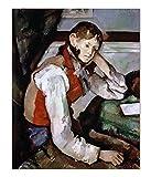 ART ALPHA - Kunstdruck - Paul Cezanne - Der Knabe mit der