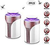 YLKCU LED Bug Zapper Lampe, Elektronische Moskito-Mörder Innen, Moskitofalle inhaliert Moskito-Killer Fly Killer