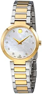 Modern Classic Quartz Movement Mother Of Pearl Dial Ladies Watch 607103