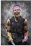 Leinwand Druck Poster Rafael Nadal Tennis Sport ss