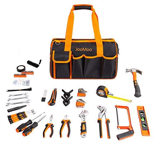 JooMoo 169 Piece Tool Sets for Man, Home Household Basic Repair Hand Tool...
