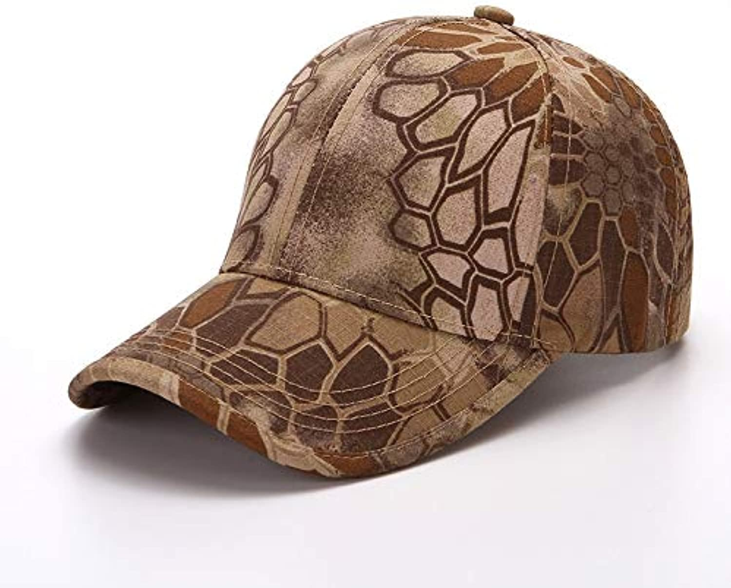 AAMOUISE Baseball Cap Men Women Adjustable Fishing Hunting Camouflage Army Sport Baseball Hat Camo Cap Brown Camouflage Tactical Baseball