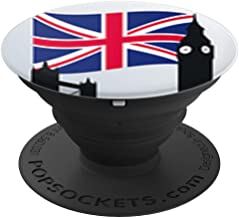 UK Popsocket Flag London City,Tower Bridge,Big Ben, Gift - PopSockets Grip and Stand for Phones and Tablets