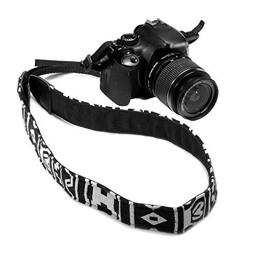 1 Correa de Hombro para Cámara Réflex Digital para Cámaras Réflex Réflex Digitales Nikon Canon Sony Panasonic, Estilo Vintage